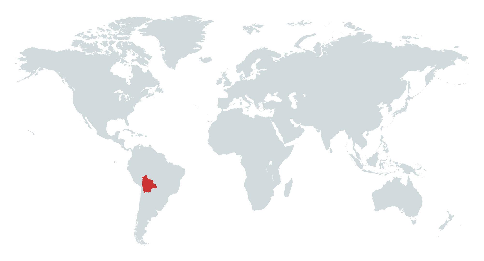 MAPA BOLIVIA