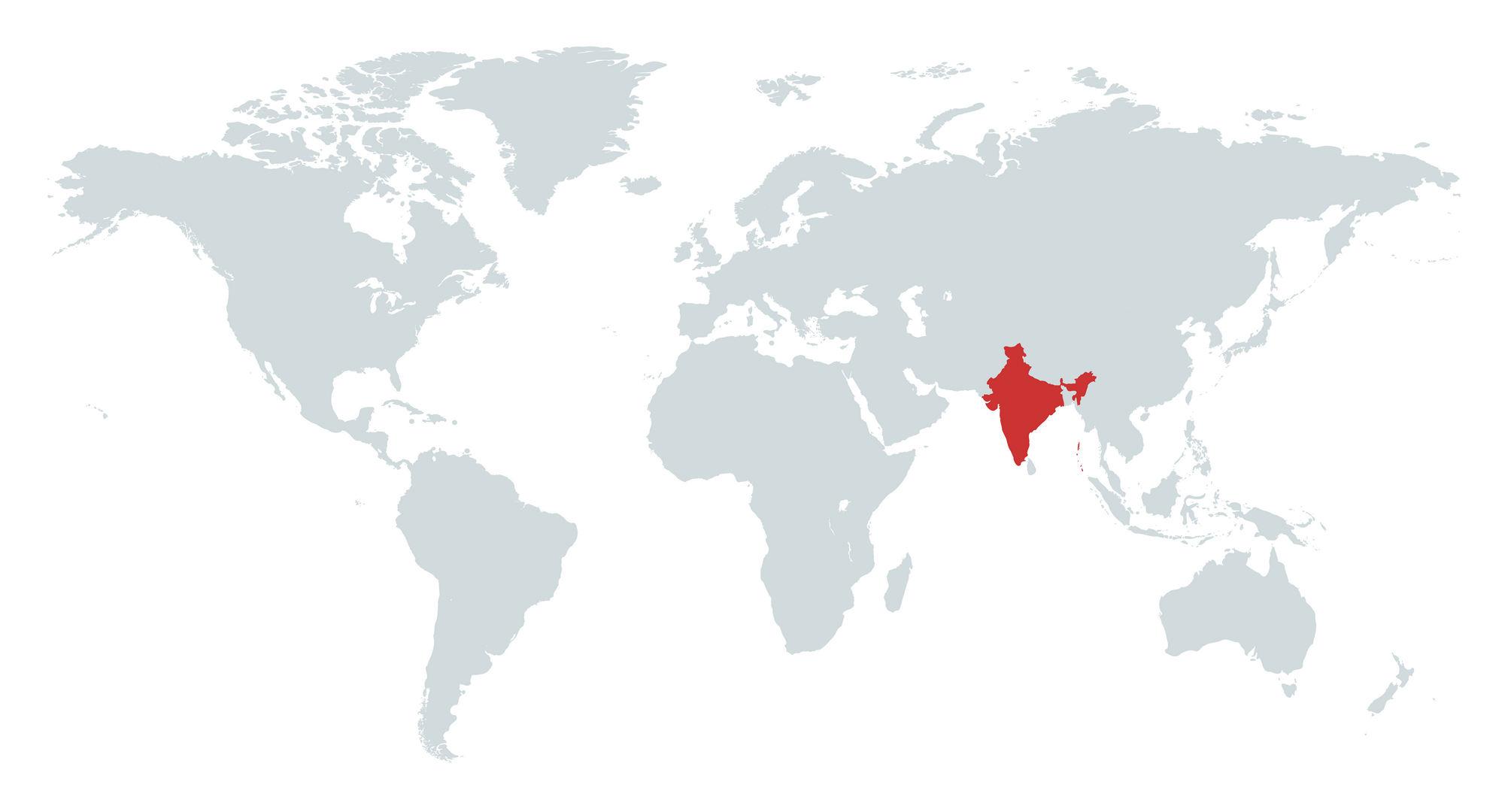 MAPA INDIA