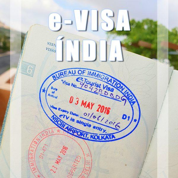 Como Tirar o Visto Electrónico (e-Visa) para a Índia