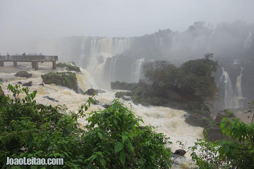 Visit Iguazu Falls, Brazil