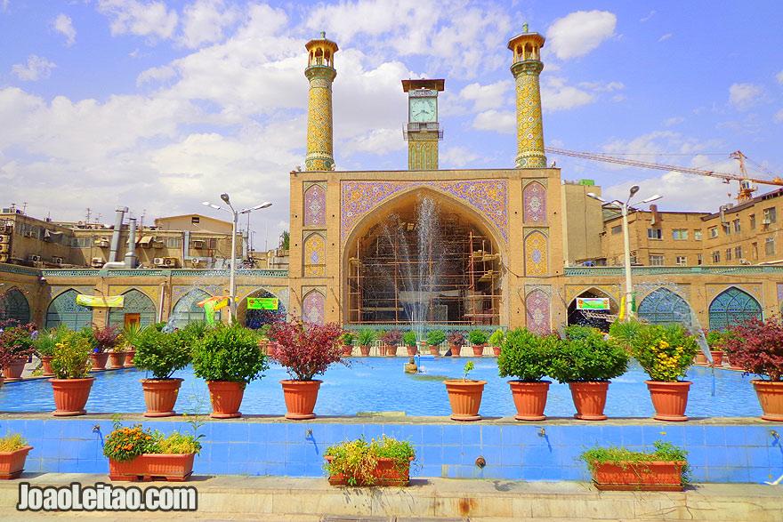Imam Khomeini Mosque in Tehran - Religion in Iran