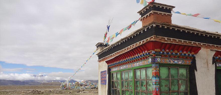 Lalung La Pass in Tibet