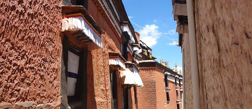 Tashilhunpo Monastery in Shigatse Tibet