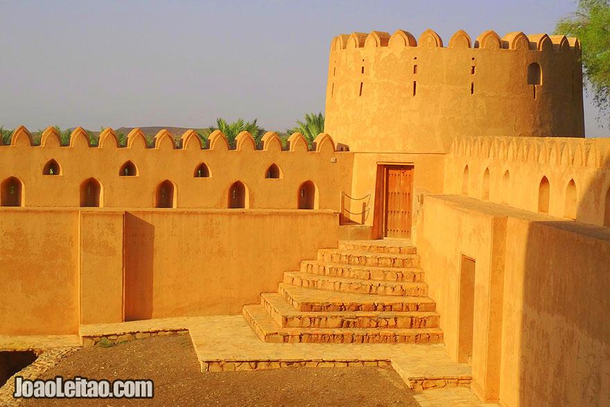 Visit Jabrin Castle in Oman