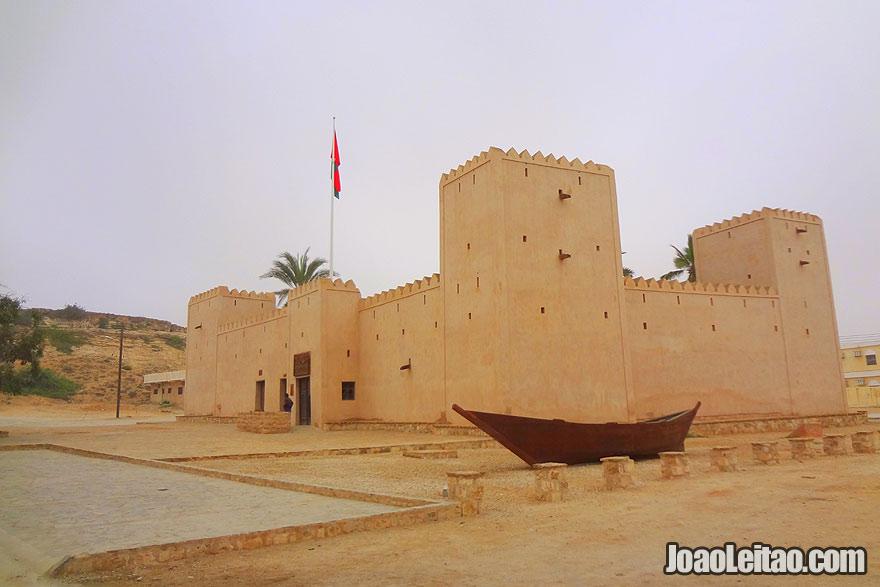 Visit Taqah Castle in Mirbat in Oman