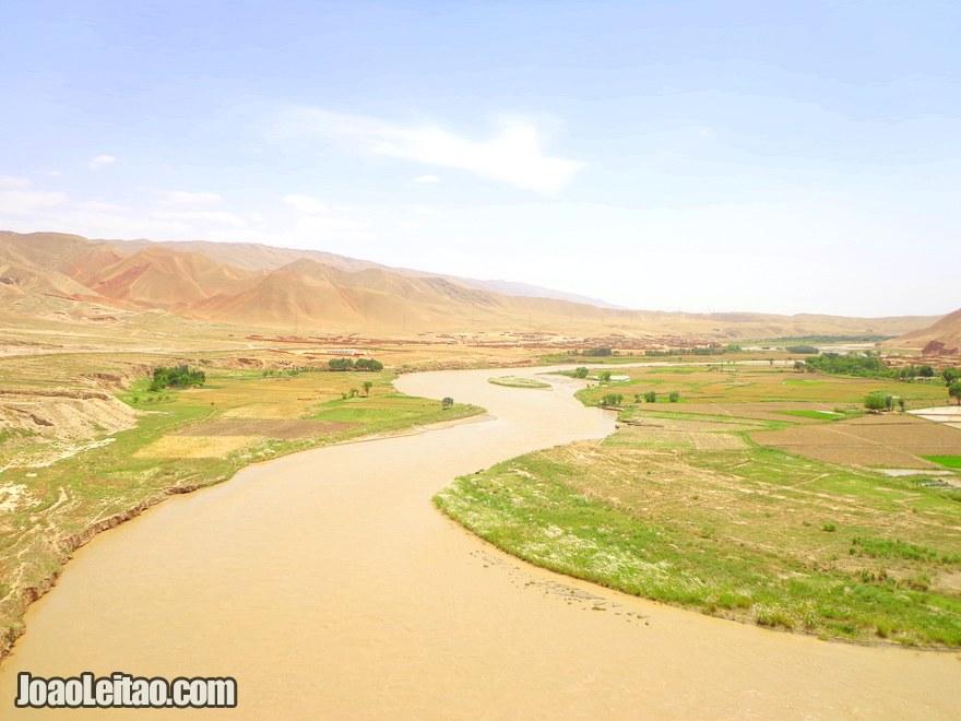Estrada de Kunduz até Pol-e Khomri