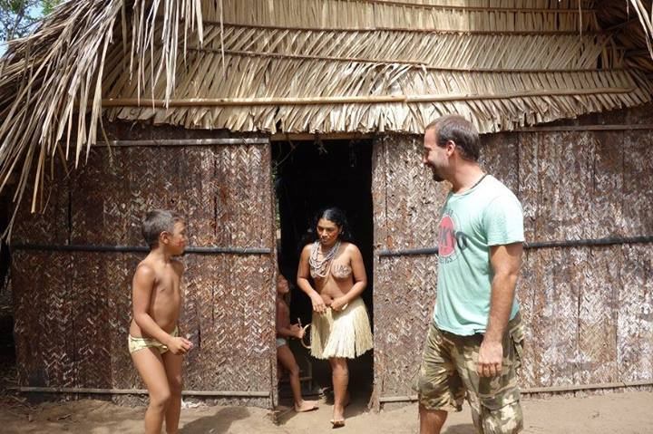 Tatuyo tribe of Rio Negro in Amazon, Brazil