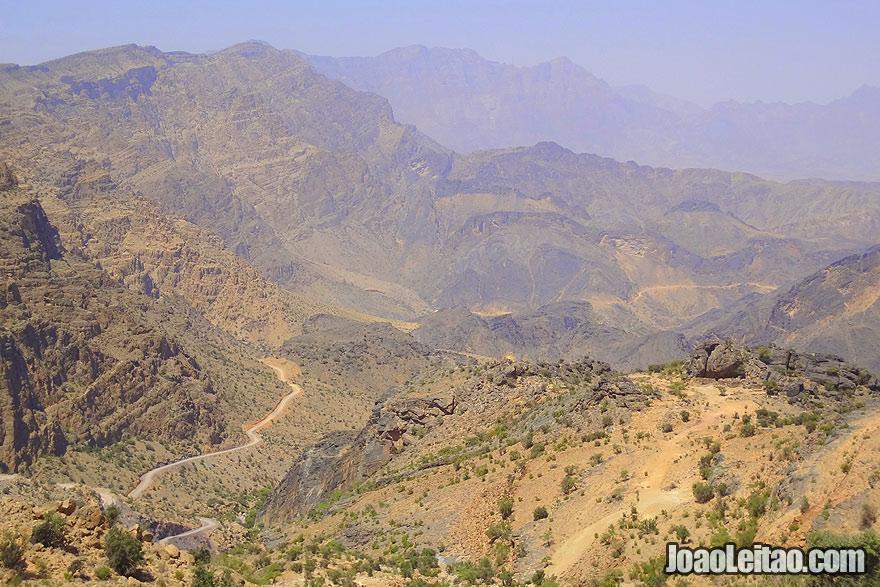 Visit Jebel Akhdar Mountain in Oman