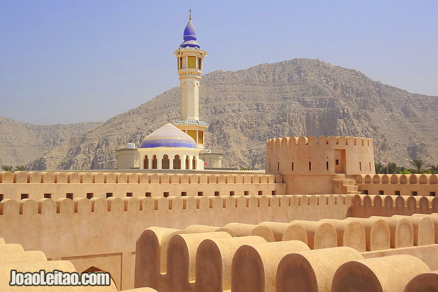 Visit Khasab Fortress in Oman