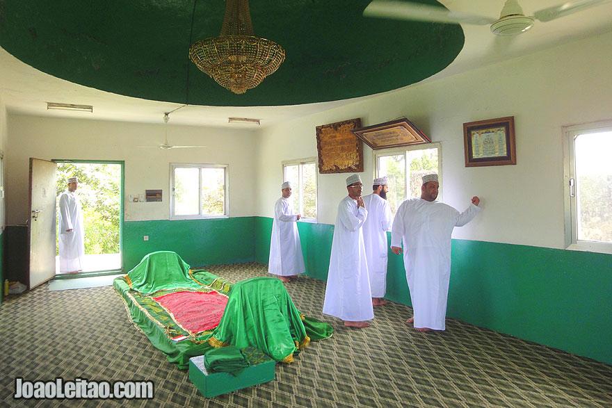 Visit Tomb of Job in Oman