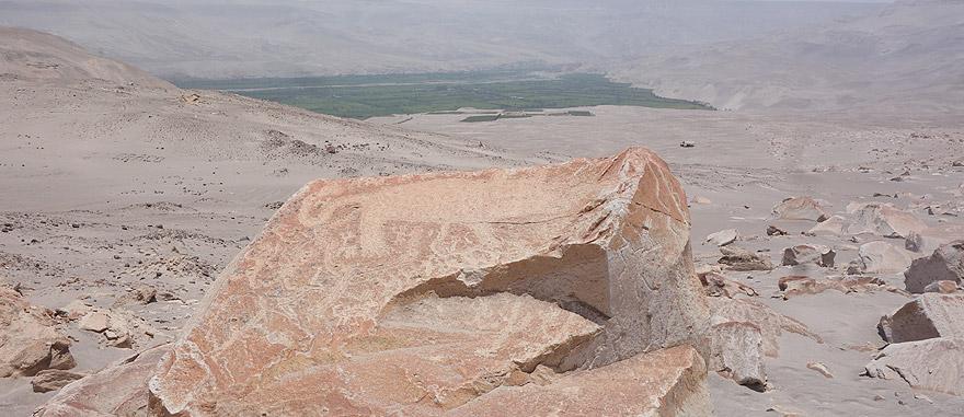 Visit Toro Muerto in Peru