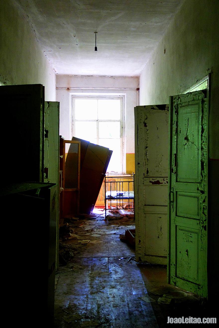 Inside Abandoned School in Kopachi Village