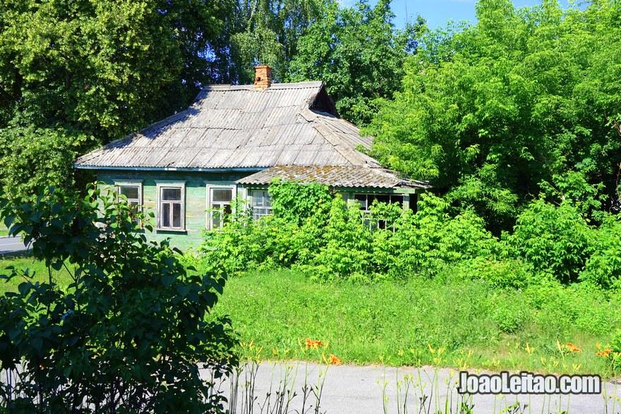 House in Chernobyl