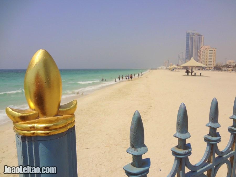 Visit Ajman Beach United Arab Emirates