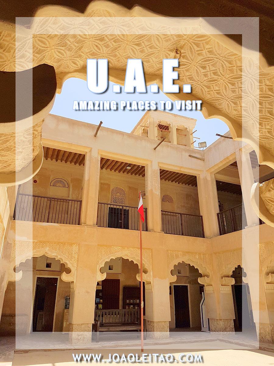 Must Visit Places in United Arab Emirates