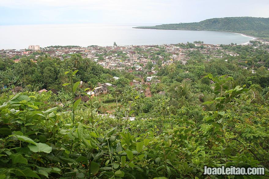 Baracoa upper view