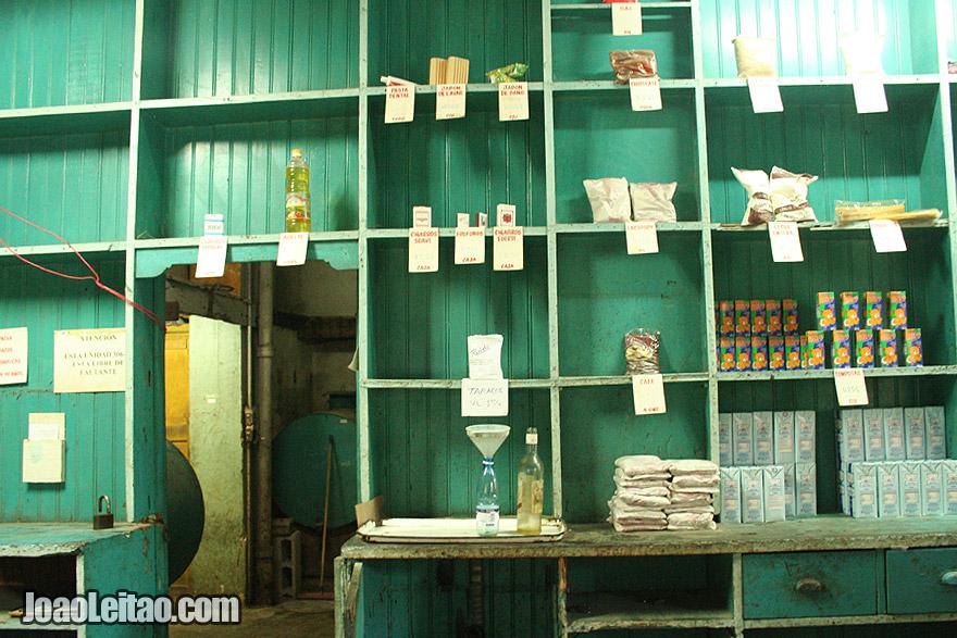 Empty shop in old Havana