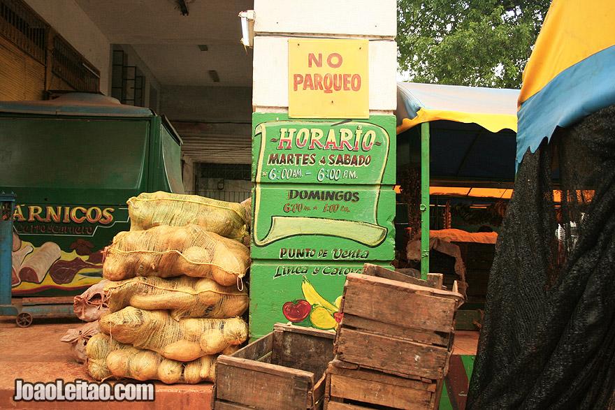 Havana fruit market schedule