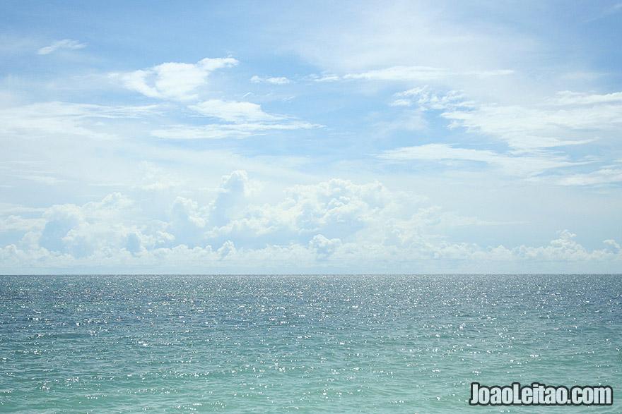 Playa Ancon in the Caribbean Sea