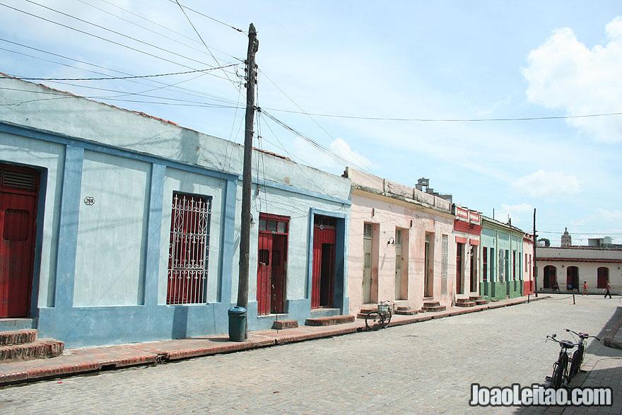 Empty street in Camaguey