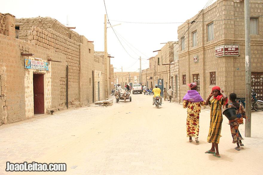 Timbuktu street scene