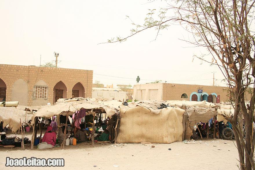 Timbuktu street market