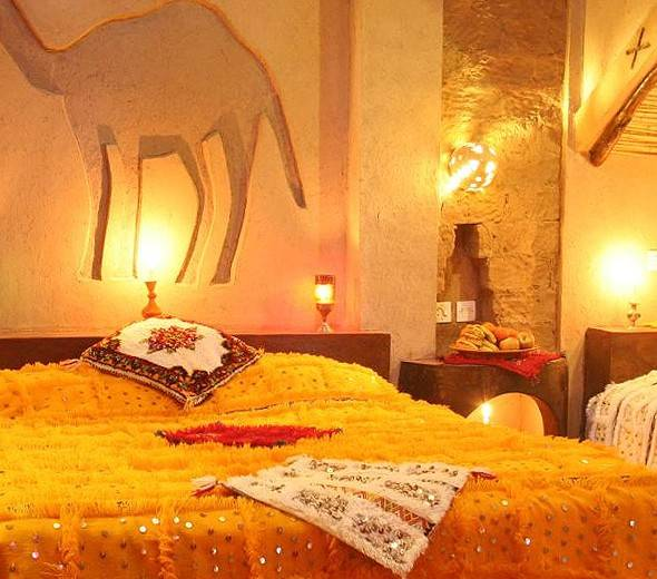 Sahara Desert Hotel in Morocco
