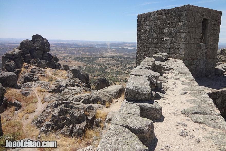 Monsanto stone castle