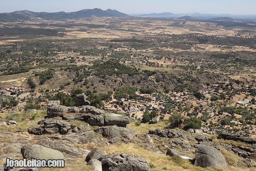 View of Monsanto surroundings