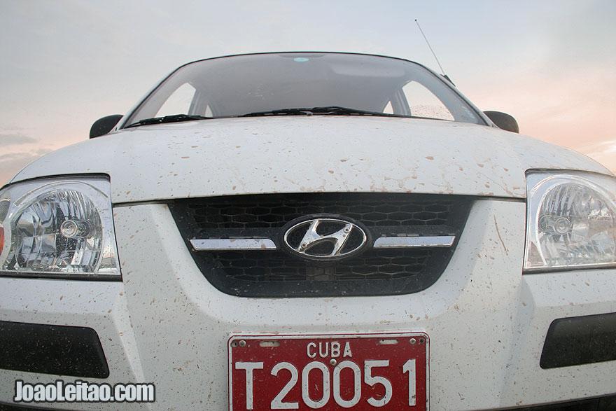 Hyundai Athos - Rent-a-car Cuba