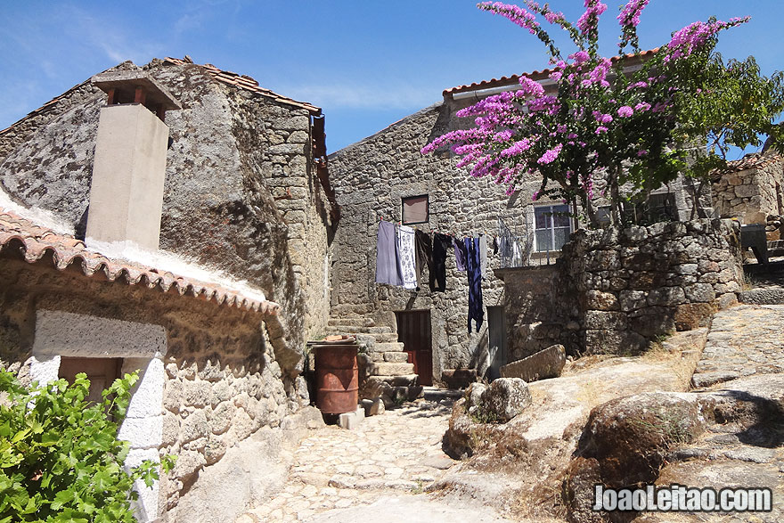 Stone houses in Monsanto