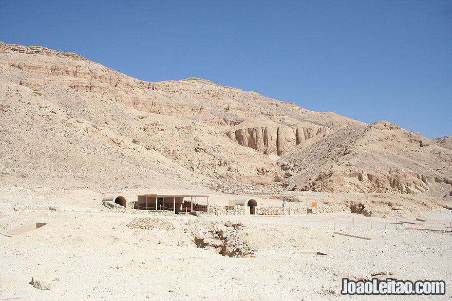 Valley of the Queens in Luxor