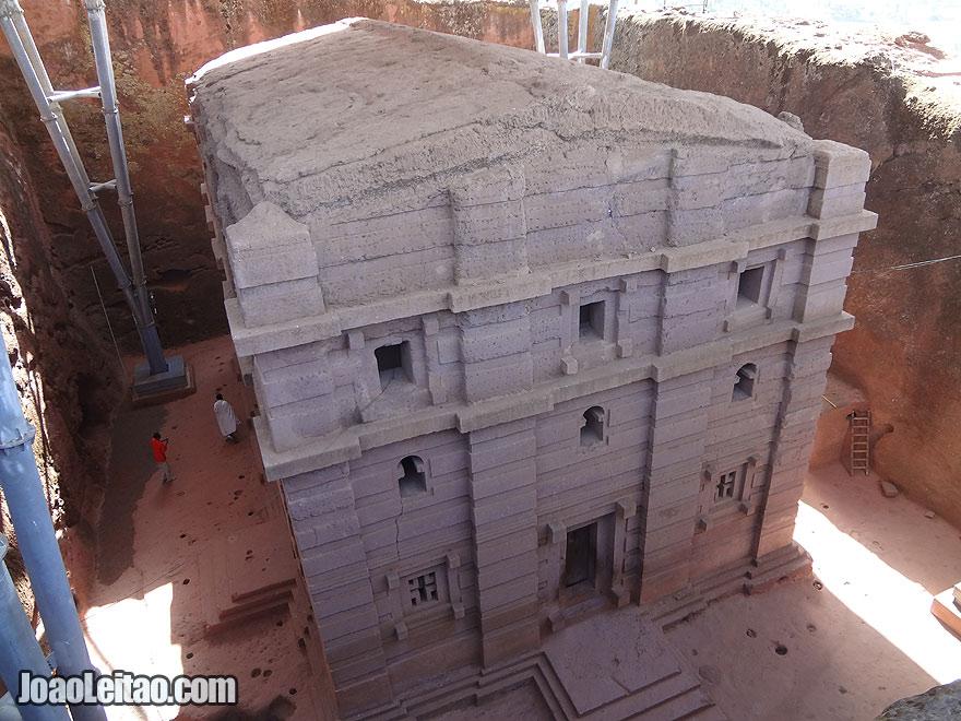 Rock-Hewn Church of Bet Amanuel in Lalibela