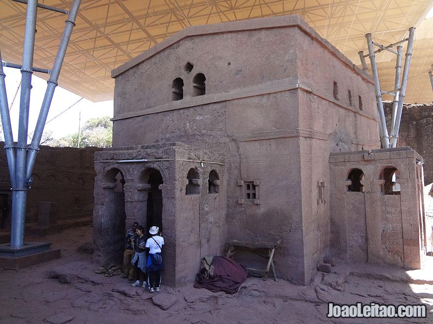 Rock-Hewn Church of Bet Maryam in Lalibela