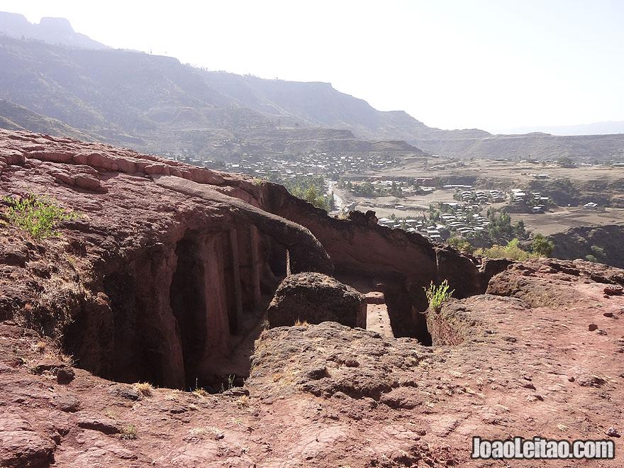 Rock-Hewn Church of Bet Merkorios in Lalibela