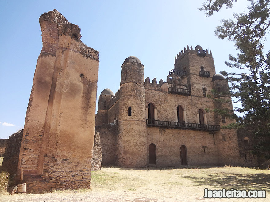 17th century Gondar Castle founded by Emperor Fasilidas, Ethiopia