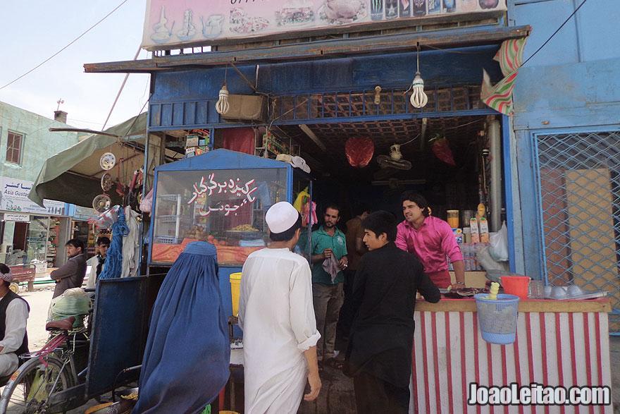 Restaurant in Mazar-i-Sharif