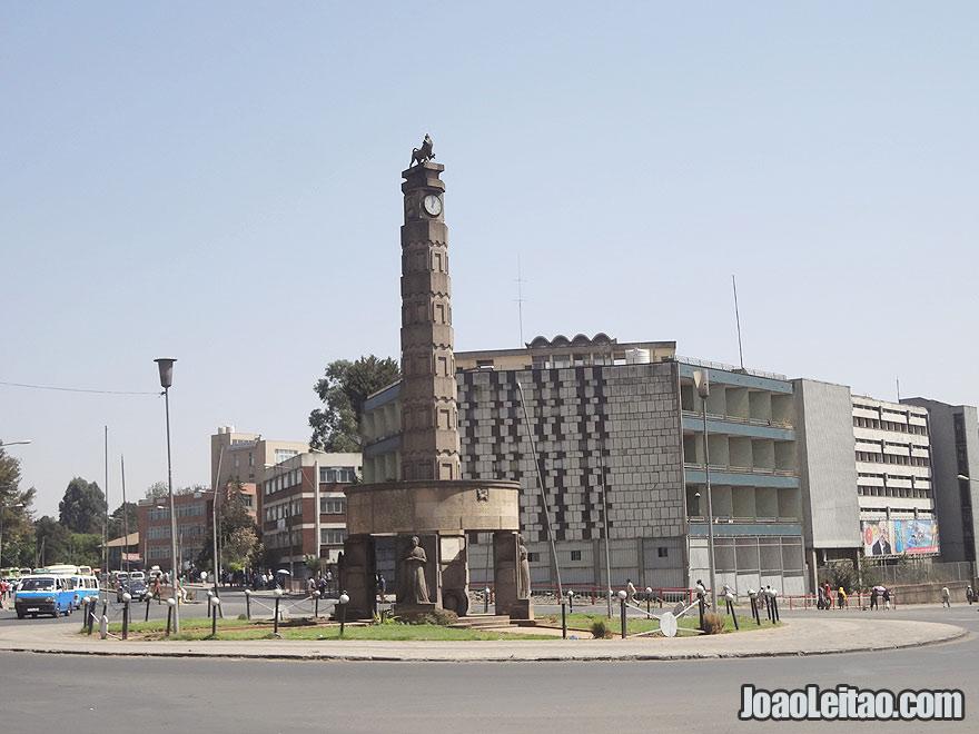 Meyazia 27 Square Monument in Addis Ababa, Ethiopia