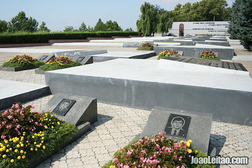 Afghanistan War Memorial in Tiraspol
