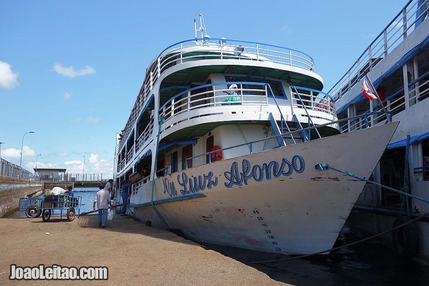Barco Luiz Afonso - Santarém até Óbidos