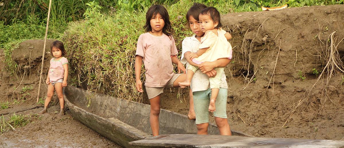 Amazon River Boat Crossing