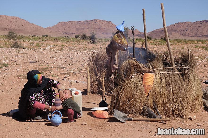 Encontros nómadas - Deserto do Saara em Marrocos