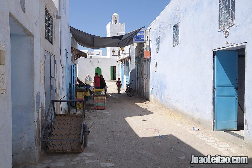 Kairouan medina in Tunisia
