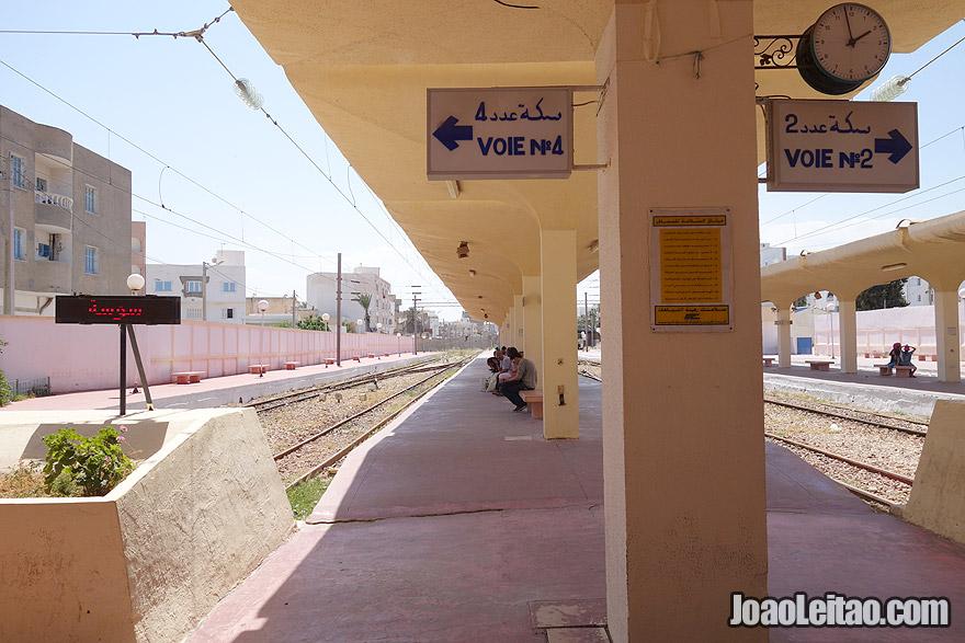 Estação de comboios de Monastir