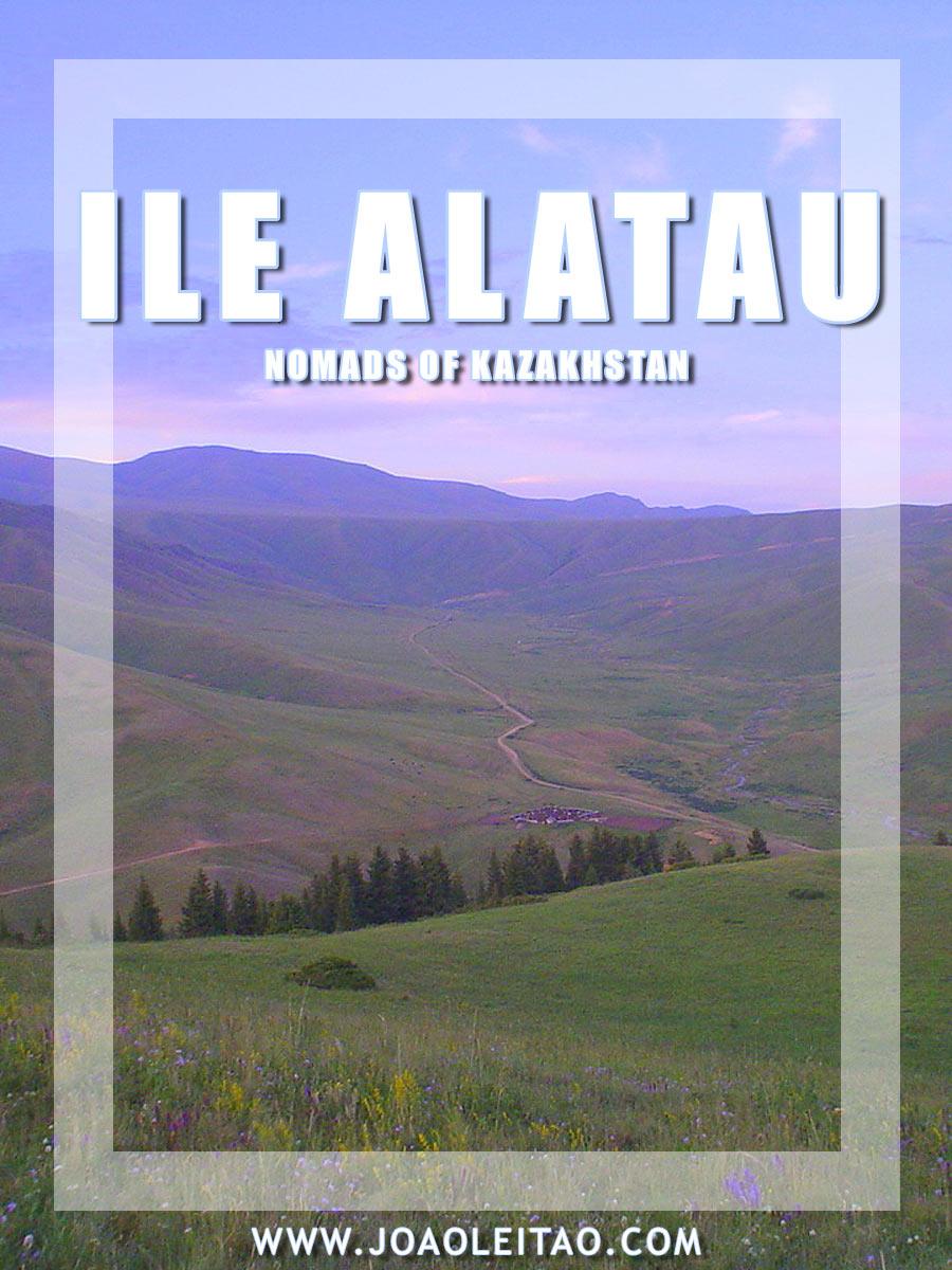 Nomads of Kazakhstan - Ile Alatau Mountain Range