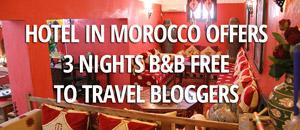 Free Hotel Ouarzazate Giveaway
