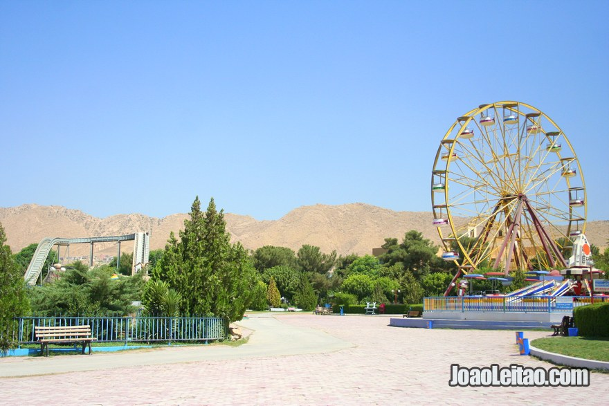 Dream City theme park in Dohuk, Hitchhiking Iraqi Kurdistan