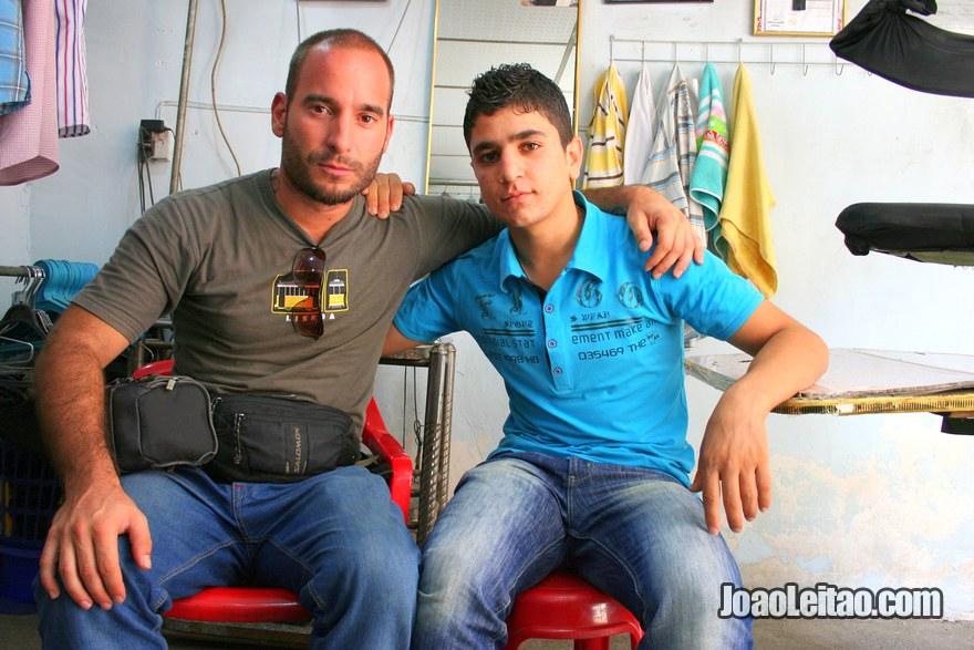 Making friends while Hitchhiking in Iraqi Kurdistan