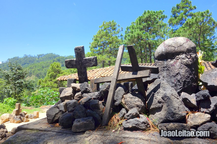 Mayan shrine of Pascual Abaj in Chichi