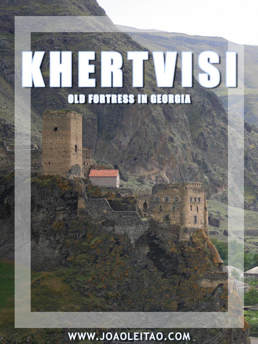 Khertvisi fortress in Georgia